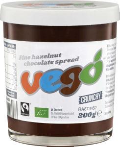Namaz Bio Vego, čokolada z lešniki, 200ml