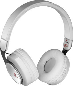 Slušalke Bluetooth, bele brezžične