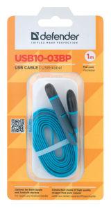 Kabel USB microusb+lightning 1m moder