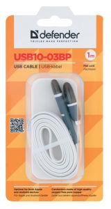 Kabel USB microusb+lightning 1m bel