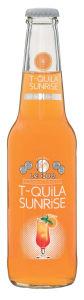 Pijača cocktail T-quila sunrise, alk.4,7 vol%, 0,33l