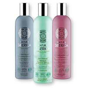 Šampon NS, naravni, za vse tipe las, 400ml