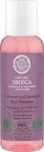 Šampon za lase Natura Siberica, barvani in poškodovani lasje mini, 50ml