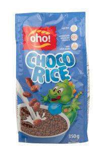 Kosmiči Oho Choco rice, 350g