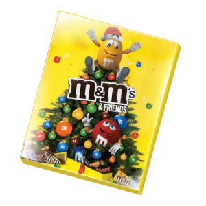 Bonbonjera M&M's & Friends Adventni koledar, 361g