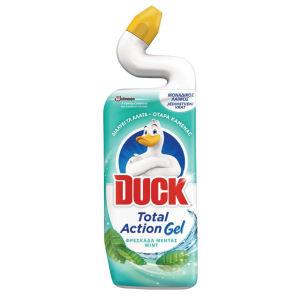 Čistlo WC, Duck 5v1, mint, 750ml