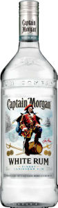 Rum Captain Morgan white, alk.37,5 vol%, 1l