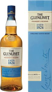 Whisky The Glenlivet f.res., alk.40 vol%,0,7l