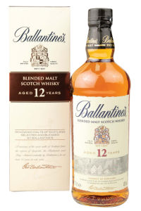 Whisky Ballantines 12Y.O., pure malt, alk.40 vol%, 0,7l
