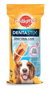 Palčke Pedigree Dentastix, medium, 180g