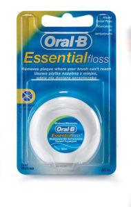 Zobna nitka Oral-B, povoščena, 50m