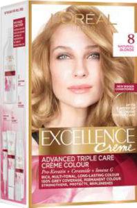 Barva za lase Excellence, 8