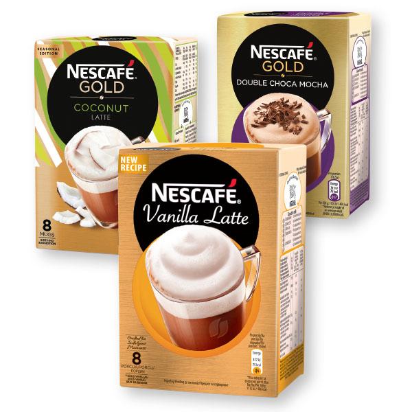 Cappuccino Nescafe, z vanilijo in mlekom,148g