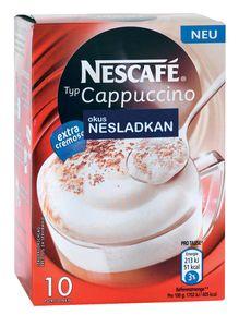 Cappuccino Nescafe, manj sladkorja, 125g