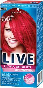 Barva SK, Live XXL, Ultra 92, izrazito rdeča