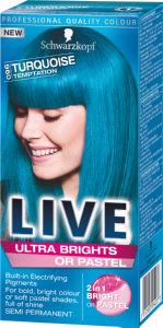 Barva Live XXL, Ultra 96, turkizna skušnjava