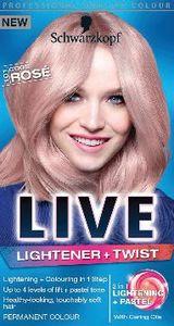 Barva SK, Live L&T, rožnato blond