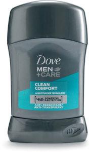 Dezodorant stick Dove, clean comfort, 50ml