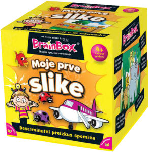 Igra Brainbox slike, slovenski