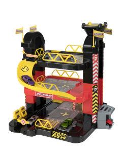 Igrača Teamsterz, garaža s stolpom + 5 avtomobilčkov