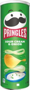 Čips Pringles, kisla smetana, čebula, 165 g