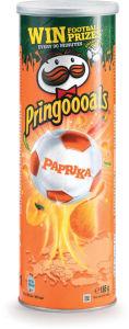 Čips Pringles, paprika, 165 g