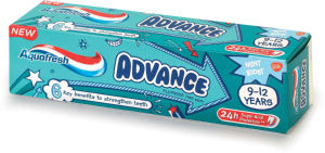Zobna pasta Aquafresh, Advance kids, 75ml