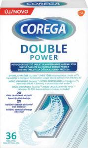 Tablete Corega, Double power, 36/1