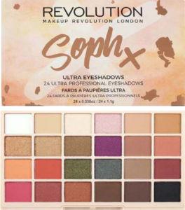 Paleta senčil Revolution, Soph X, extra spice