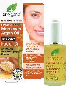 Olje Dr.Organic, obrazno z arganom, 30ml