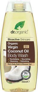 Gel za prhanje Dr.Organic, s kokosovim oljem, 250ml