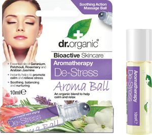 Roll-on Dr.Organic, aroma de-stress, 10ml