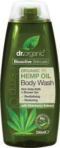 Tuš gel Dr.Organic s konopljinim oljem, 250ml
