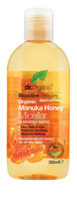 Micelarna vodica Dr. Organic, z manuka medom, 200 ml