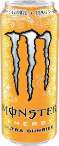 Energijska pijača Monster, ultra sunrise, 0,5l