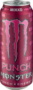 Energ.napitek Monster, Mixxd punch, ploč., 0.5l