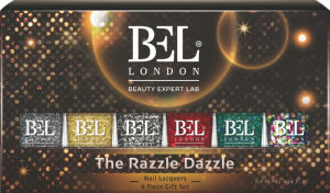 Set lakov za nohte Bel London, The Razzle Dazzle, 6 x 10ml