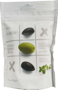 Olive Iliada mešane z zelišči, prigrizek, 120 g