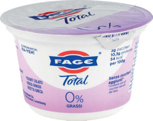 Jogurt, grški total, 0 % m.m., 170 g