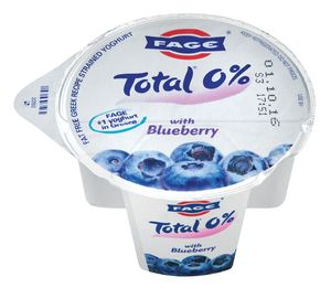 Jogurt, grški, borovnica, 0%maščobe, 170g