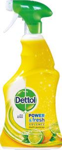 Dezinf.sprej Dettol, Power&fresh lemon, čist., 500ml