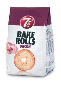 Prepečenec Bake Rolls, slanina, 70g