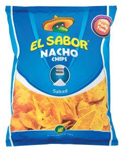 Čips El Sabor, koruzni, slani, 225g