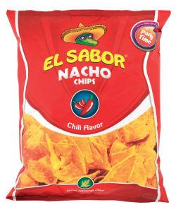 Čips El Sabor, koruzni, s čilijem, 255g