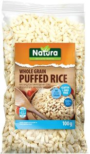 Riž, expandirani, polnozrnati, 100 g
