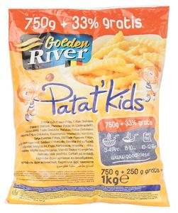 Pomfrit Golden river Patat` Kids, 1kg