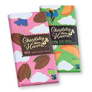 Bio čokolada, 100g, več okusov