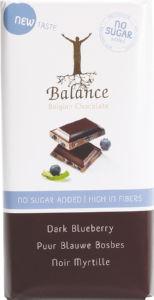 Čokolada Balance, temna, borov., brez dod.sla