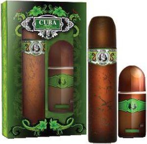 Set Cuba, Green, moški, toaletna voda 100ml + roll-on 50ml
