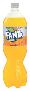 Fanta Orange Zero, 1,5 l